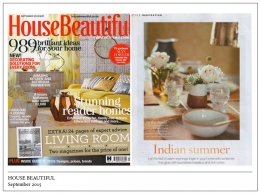 House Beautiful, September 2015