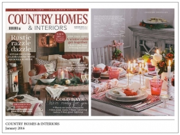Country Homes & Interiors, January 2016